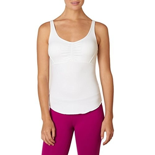 prAna Womens Dreaming Top, White, Small