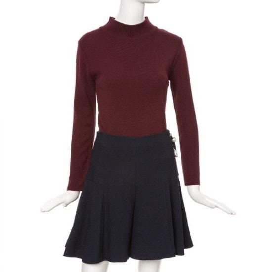 ラインNGPOGL98バンポルラ基本ニット ニット/セーター/韓国ファッション