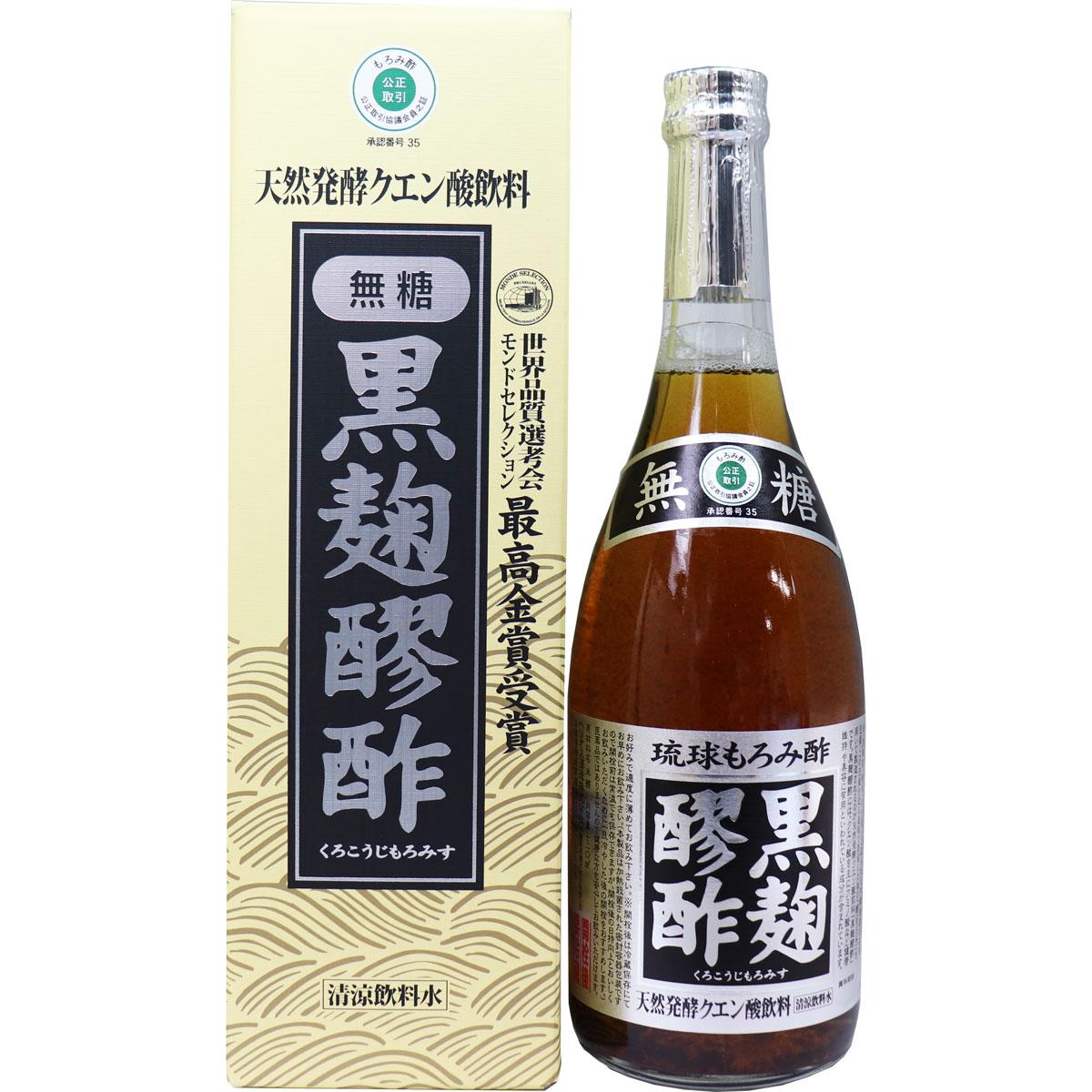 黒麹醪酢 無糖 720mL 製品画像