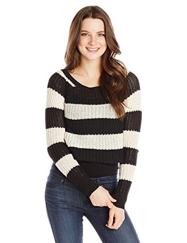 Billabong Juniors Cosmic Skies Sweater, Off Black, Medium