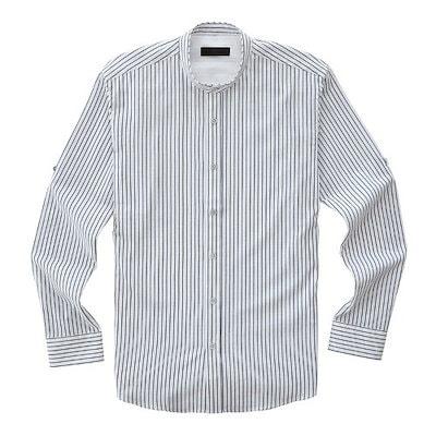 [AK公式ストア]【STCO]ホワイトストライプシャツ_SDS8302TTW