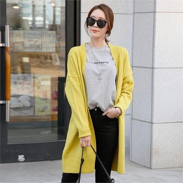 ビルリジュン・ニットカディゴンnew 女性ニット/カーディガン/韓国ファッション
