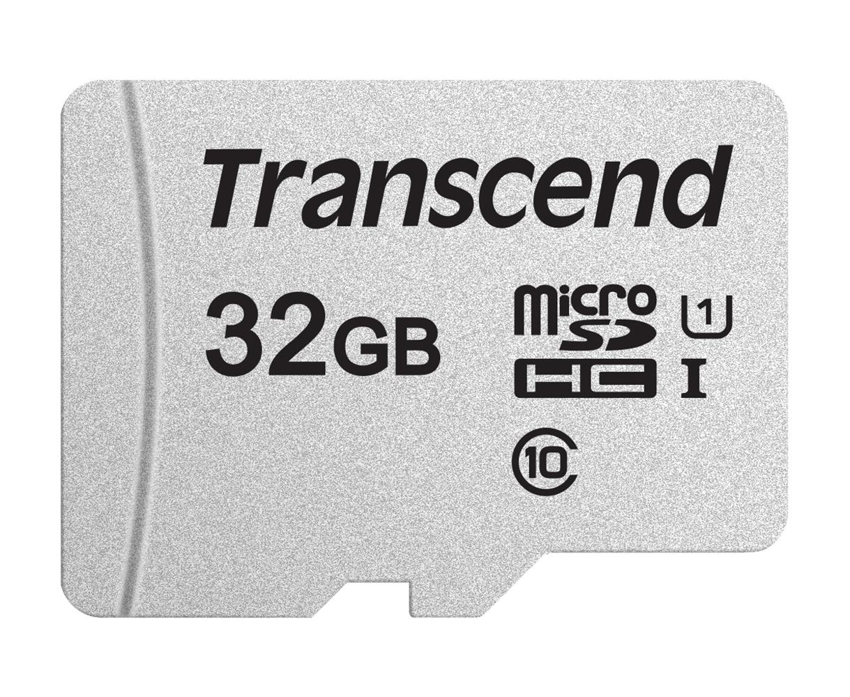 【正規国内販売代理店】トランセンド 32GB UHS-I U1 microSDHCカード(変換アダプターなし) TS32GUSD300S