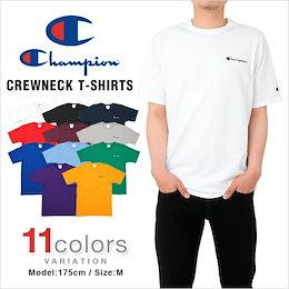 【在庫のみ半額以下のゲリラSALE🔥ロゴ刺繍のプレミアムタイプ】 1番人気デザイン チャンピオン Tシャツ CHAMPION メンズ レディース 大きいサイズ USAモデル ロゴ 刺繍 半袖