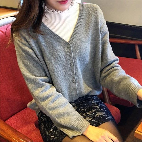 ディエルカディゴンnew 女性ニット/カーディガン/韓国ファッション