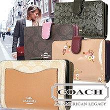 💛選べる 20 TYPE COACH 2つ折財布💛アメリカCOACH直営【COACH OUTLET】より買付け★コーチ 財布