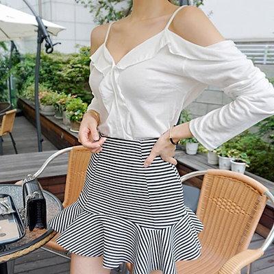 ネオフリル裁着けnew 女性のスカート/ロングスカート/韓国ファッション