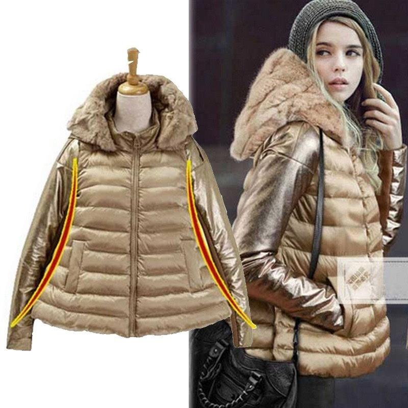 mmの大型サイズの女性の女性のコットンファットダウンコットン冬のコート