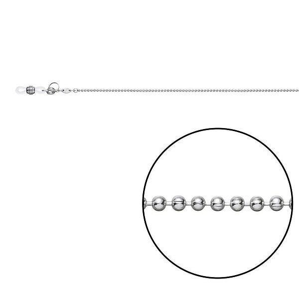 メガネチェーン CW-321 ボール φ1.5mm Z5421 いつものメガネをもっとオシャレに