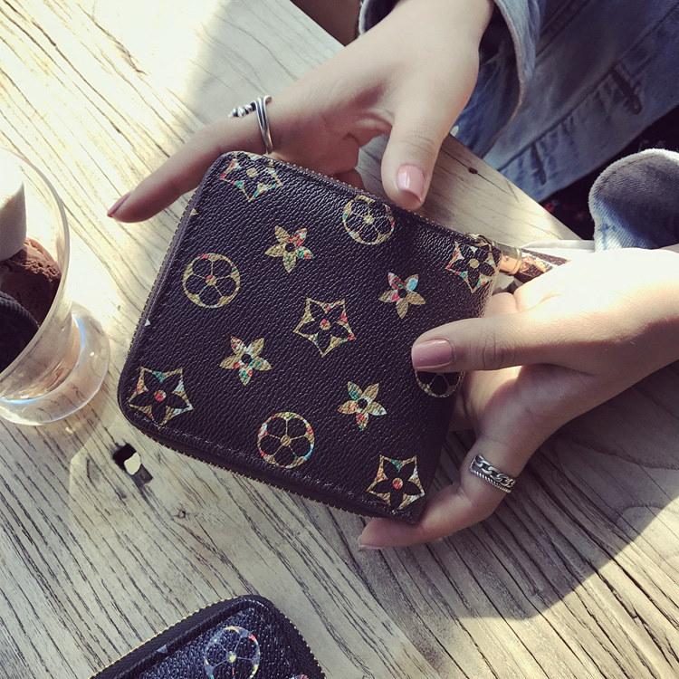 女は財布とフリンジが可愛い零財布学生の新型のばら銭に夾を入れ