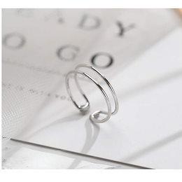 シンプル レディース シルバー925 リング  指輪  金属アレルギー 高品質
