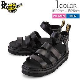 ドクターマーチン Dr. Martens ブレアー ストラップ サンダル BLAIRE R24191001 ブラック BLACK Zebrilus W レディース メンズ レザー 靴