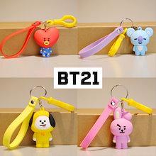 BTS  フィギュア★☆ストラップキーホルダー BT21 [ COOKY-CHIMMY-TATA-SHOOKY-RJ-KOYA-MANG]