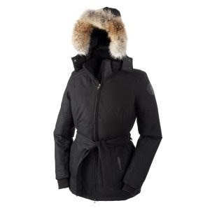 Canada Goose Womens Majella Jacket, Black Heather, M