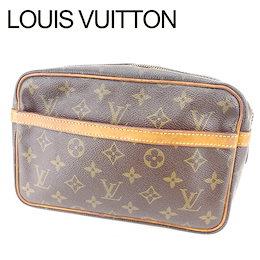 3d48d7f75db0 ルイ ヴィトン Louis Vuitton クラッチバッグ セカンドバッグ メンズ可 コンピエーニュ23 モノグラム ブラウン ベージュ ゴールド