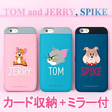 ★正規品★Tom and Jerry Card Bumper ケース 手帳型★iPhone X/XS/Max/XR/8/7/6/Galaxy Note 9/8/S9/S8/S7