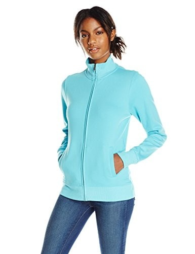 Charles River Apparel Womens Onyx Sweatshirt, Sea Glass, Large