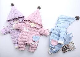 366d18bb574a1 棉服ダウンオールインワン 冬ロンパース 赤ちゃん 子供服 ベビー服 1626