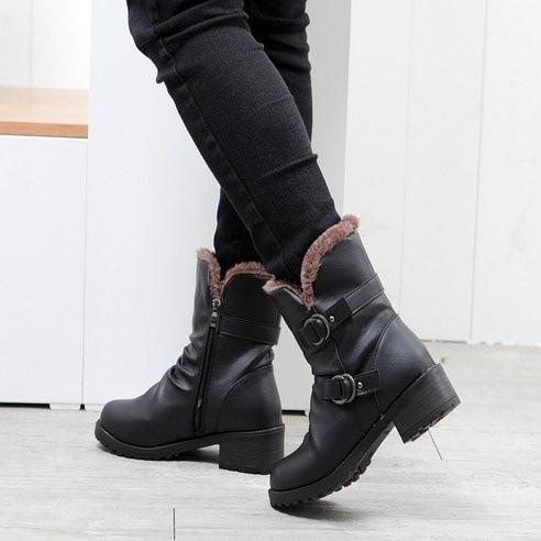 ★韓国の発送cp030★SNファッション> > 毛裏地ブーツsn640 スタイリッシュな女性のファッショナブルな靴のファッション