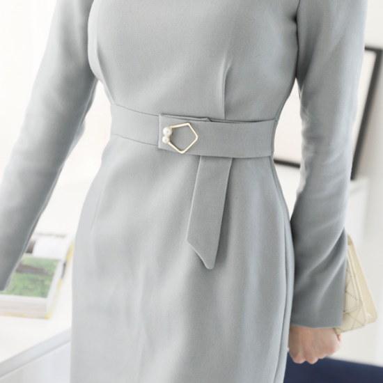 ココアベニュー開けたこと、晋州チンジュワンピース71204 スーツワンピース/ 韓国ファッション