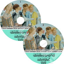 【KPOP DVD】♡♥SHINee IS BACK 2枚SET (EP1-EP6) 完 ♡♥【日本語字幕あり】♡♥ SHINee シャイニー ♡♥【SHINee DVD】