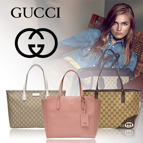 GUCCI グッチ トートバッグ ショルダーバッグ ハンドバッグ スモール PVC×レザー 2656 30961 3366 33955 35312 【Luxury Brand Selection】