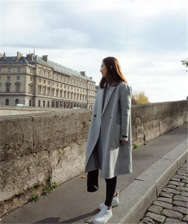 コート ジャケット ノーカラーコート ドッキング きれいめ 秋冬