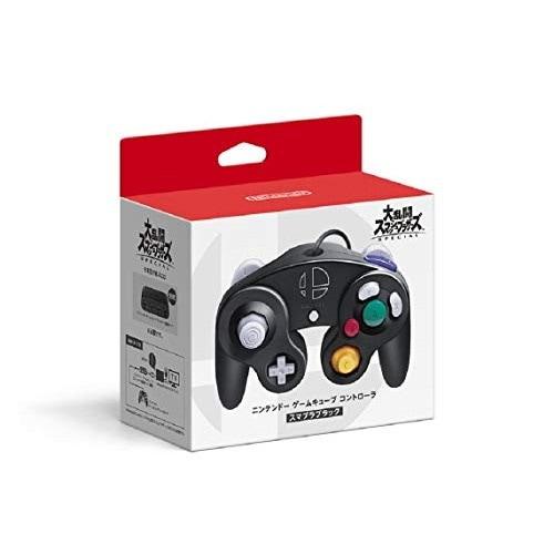 ニンテンドー ゲームキューブ コントローラ HAC-A-GCCKE [スマブラブラック] 製品画像