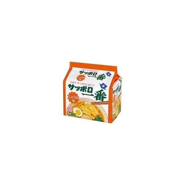 サンヨー食品 サッポロ一番 しょうゆ味 5個パック