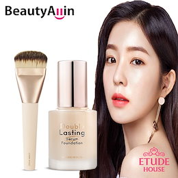 Etude House エチュードハウス - Double Lsating Serum Foundation SPF25/PA++ 30g / 韓国コスメ / Foundation brush set