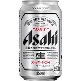 アサヒ スーパードライ350ml×24缶入り  ビール