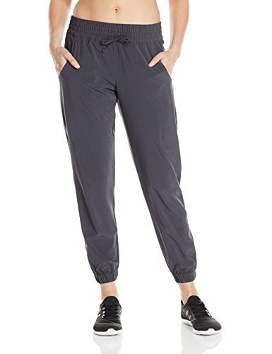 Lucy Womens Do Everything Cuffed Pant, Fossil, Medium