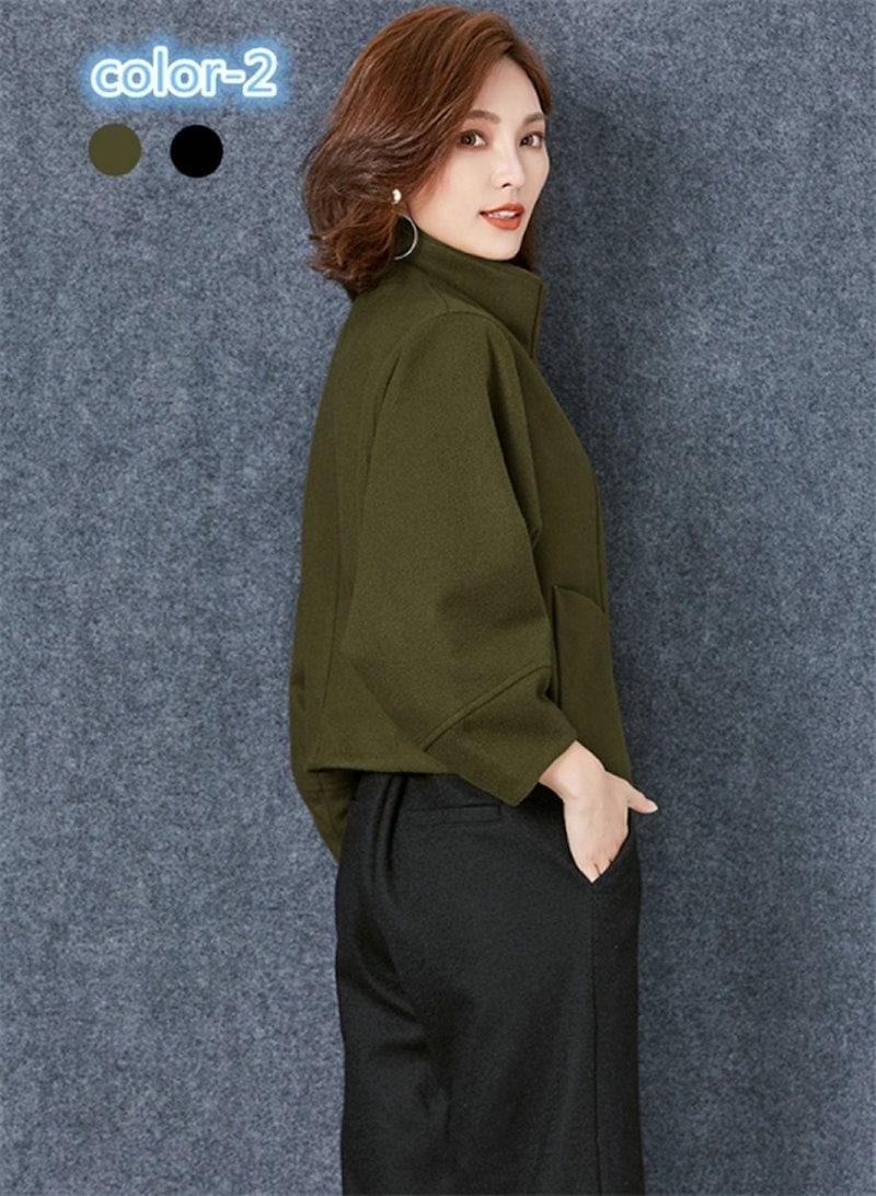 コートレディース トレンチコート ドルマンスリーブ 着やせ ファッション 着心地よい 春新作 通勤 きれいめ春コート レディースコート