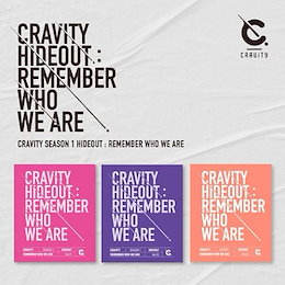 CRAVITY クレビティ SEASON 1 HIDEOUT REMEMBER WHO WE ARE / バージョン選択、3種セット