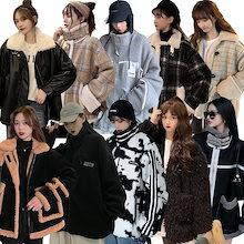 3+1 5+2 韓国新品!10月あったかアウター/おしゃれコート/もこもこ人気ジャケット限定発売