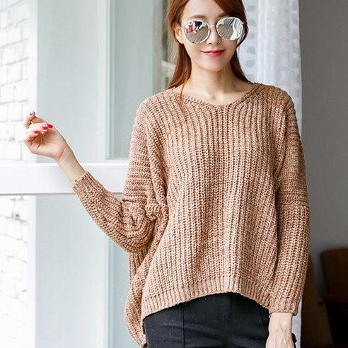 メイシーズボカシワイドニットニットkorean fashion style