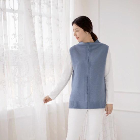 マダム4060ママの服ジュンアンジュル無知チョッキニットXKN801001 大きいサイズ/ニット/セーター/韓国ファッション