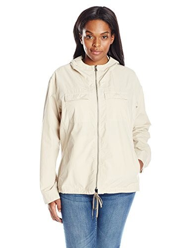 Columbia Womens Plus-Size Down The Path Jacket, Fossil, 2X