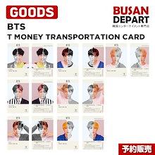 BTS T MONEY CARD 防弾少年団 BTS 半透明カード交通カード 公式商品 TRANSPORTATION CARD CU 1次予約