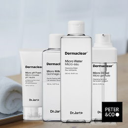 [DR.JART+ドクタージャルト] Dermaclearマイクロウォーター/フォームクレンザー/クレンザー/ミルクピール/ pH /オイルジェルMicro Water / Foam Cleanser