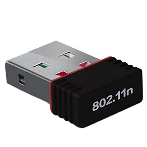 Hommy USB2.0 WIFI 無線LAN 子機 親機 アダプタ 超小型 IEEE802.11n/g/bサポート USB WiFiネットワーク ワイヤレス接続 Windows XP/VISTA/