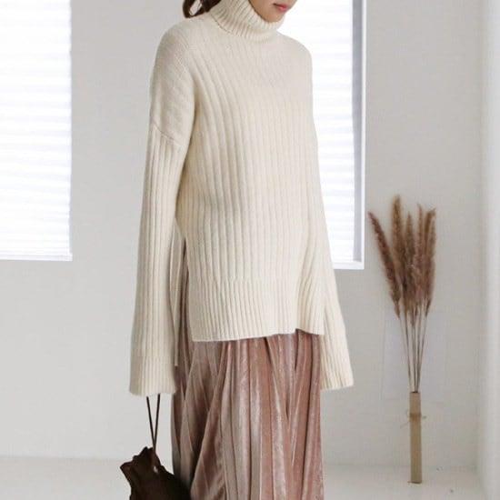 オーサム森タートルネックニット233521 ニット/セーター/ニット/韓国ファッション