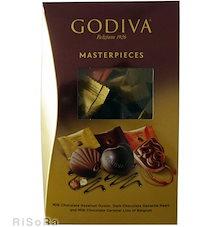 GODIVA MASTERPIECES ゴディバ マスターピース シェアリングパック 45粒 チョコレート お菓子 食品 バレンタイン ご贈答 輸入 コストコ
