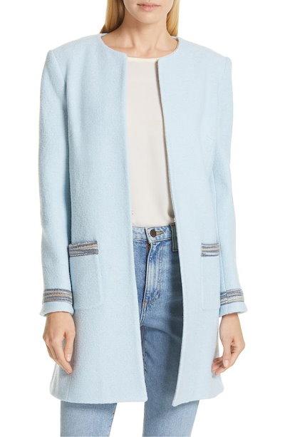 ヘレンベーマン レディース ジャケット・ブルゾン アウター Helene Berman Clean Front Long Wool Jacket