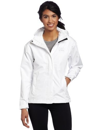 Helly Hansen Womens Seven J Jacket, White, X-Large