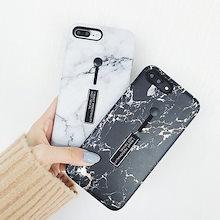 リングベルト 大理石 ユニセックス iPhoneケース 送料無料 iPhone6/6s iPhone6plus/6splus iPhone7/8 iPhone7plus/8plus iPhoneX