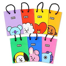 【BTS公式 グッズ】 BT21 ショッピングバッグS LINE FRIENDS