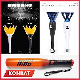 【即日発送/送料無料】ビッグバン(BIGBANG)、アイコン(IKON)、ウィンナー(WINNER)、YG FAMILYスペシャル商品、ライトバット、公式本物の、韓国直発送、ペンライト、ライトIKON BAT