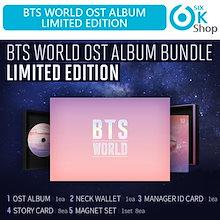 BTS WORLD OST ALBUM LIMITED EDITION 初回ポスター 【送料無料】 【公式グッズ】