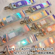 ☆送料無料☆NCT 127 ホログラムストラップキーリング[NCT 127 デビュー2周年記念商品]